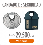 CANDADOS SEGURIDAD SALCOM - SALCOM